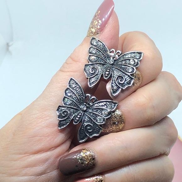 Butterfly Earrings Medium Studs